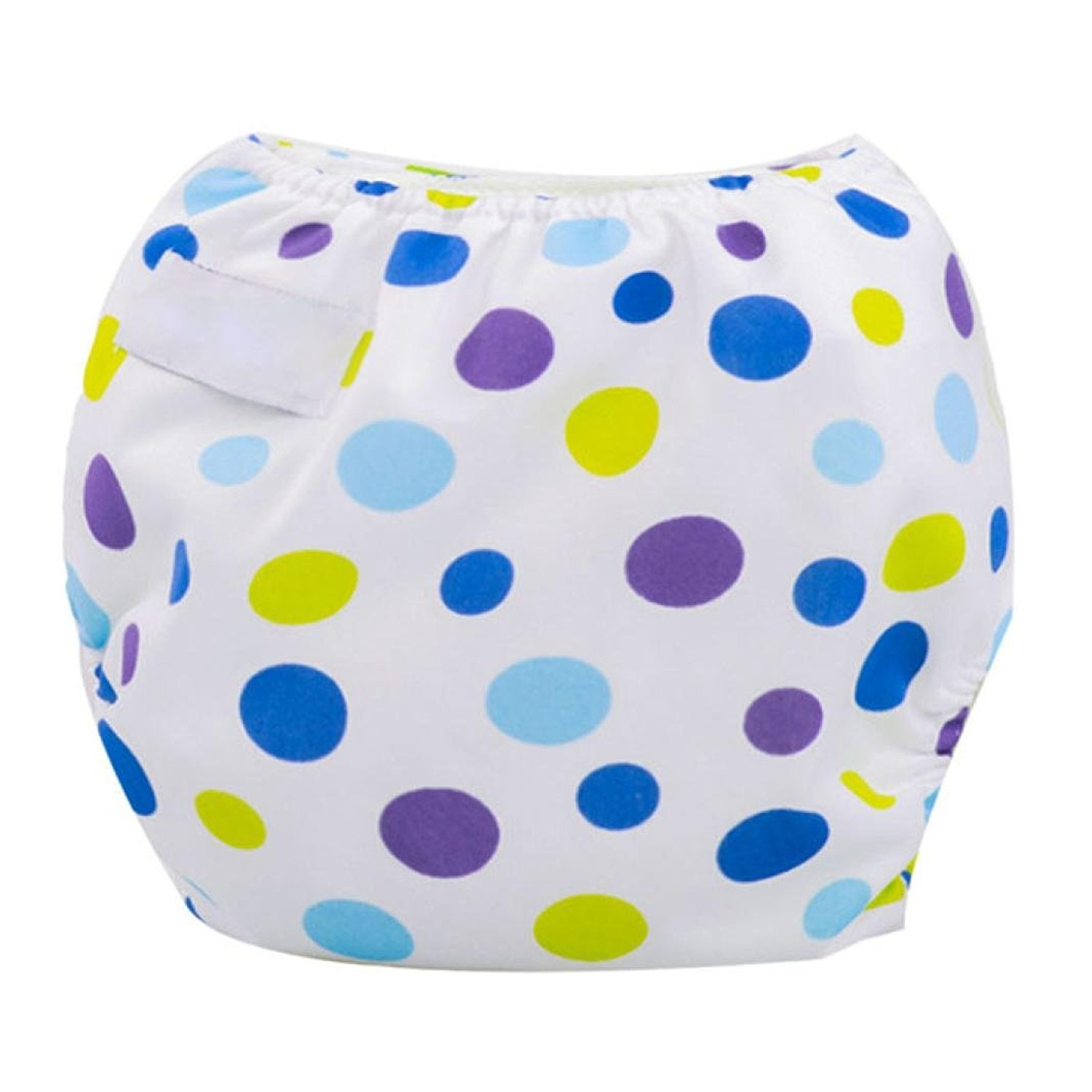 Fulltime(TM) Newborn Baby Summer Cloth Diaper Cover Adjustable Reusable Washable Nappy F-1406