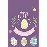Happy Easter: Bunny Love: Easter notebook for kids | Lined Journal, Notebook, Diary, 120 pages, 6x9 in | Gift for girl…