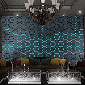 Wongxl 3d Metal 科 Thema Tapete Bar Private Speiseraume Esszimmer