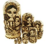 Best Winterworm Dolls - Winterworm Beautiful Traditional Russian Girl Butterfly and Flower Review