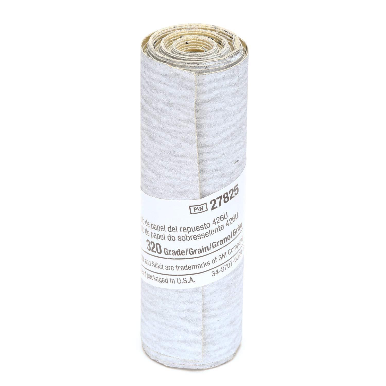 3M Stikit Paper Refill Roll 426U, 3-1/4 in x 100 in 320 A-weight