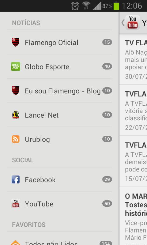 5cf23a23b Flamengo Notícias  Amazon.com.br  Amazon Appstore