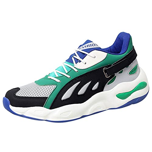 2ddace87ca3f6 Amazon.com | Aubbly Mens Running Athletic Shoes Fashion Tennis Air ...