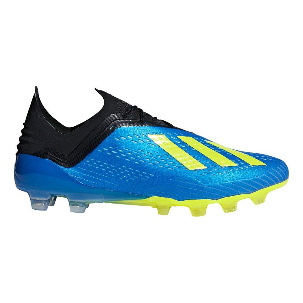 adidas(アディダス) メンズ サッカースパイク エックス 18.1 ジャパン HG AP9937 B07DTK2WR4フットボールブルー 27