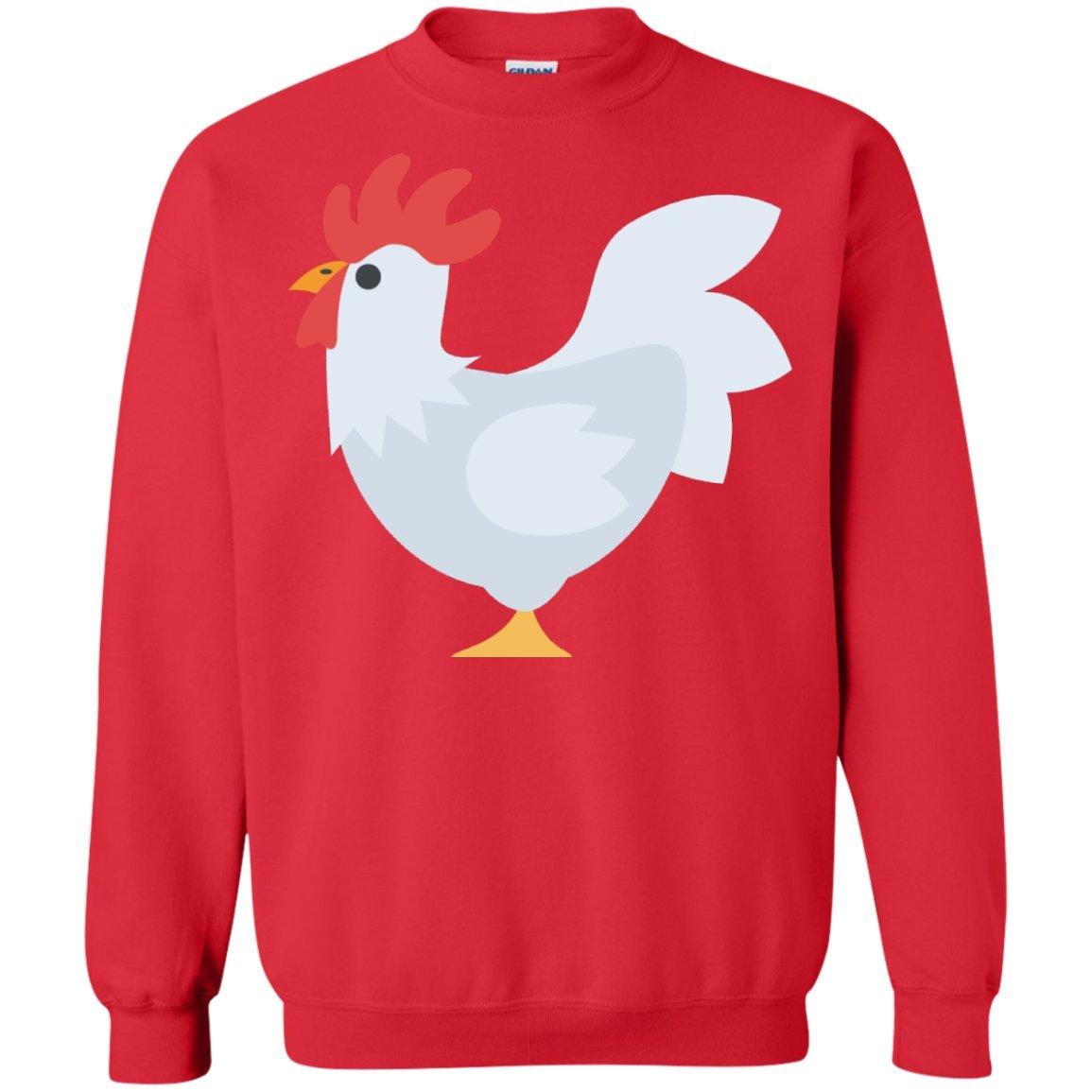 ThatMerch Store Chicken Emoji Sweatshirt at Amazon Men's