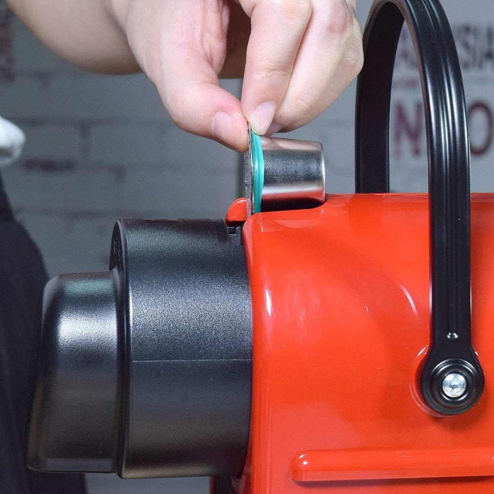 UPKOCH Lot de 20 bagues de rechange pour filtre avec joint en silicone Compatible avec dosettes de caf/é r/éutilisables en acier inoxydable Nespresso