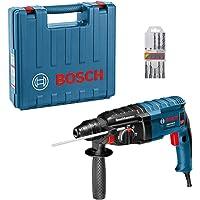 Martelete Perfurador Bosch GBH 2-24 D 820W 127V com 5 brocas e maleta
