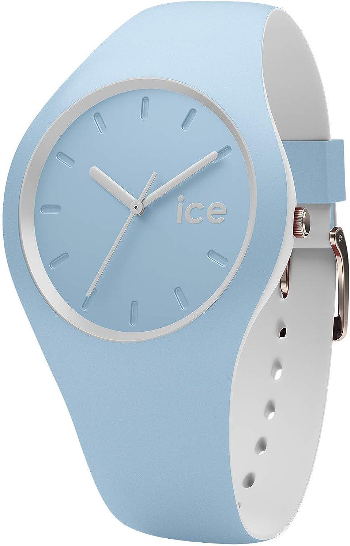 Ice-Watch - ICE duo White sage - Reloj blu para Mujer con Correa de silicona - 001489 (Small)