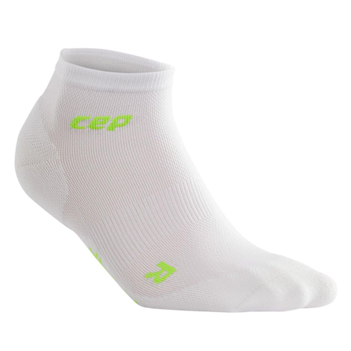 4 Gr CEP Dynamic Ultralight Low Cut Socks Damen White Gr