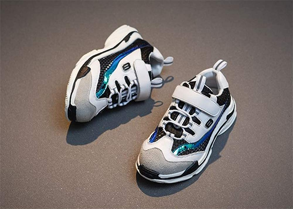 IINFINE Kid Hiking Shoes Breathable Slip Resistance Outdoor Walking Sports Shoes Fashion Casual Sneakers for Boys Girls
