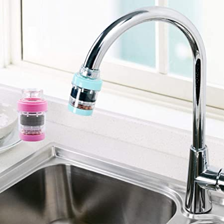 H-excellent 2 filtros de Agua para Grifo, purificador de Agua ...