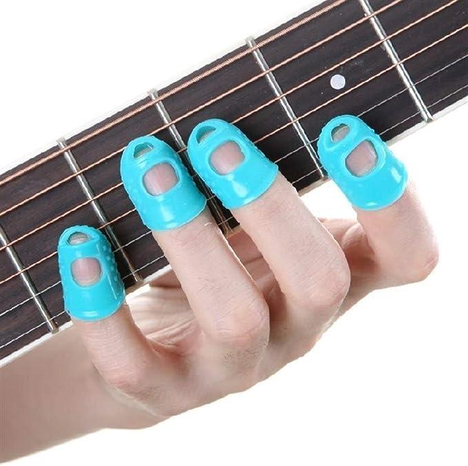 LIOOBO 12 pz Chitarra effetto del piede del chiodo cap multieffetto kit protezione della protezione per chitarra pedale effectfor Colore casuale