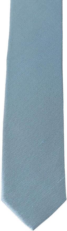 Dolce & Gabbana - Corbata de seda, color azul claro: Amazon.es ...