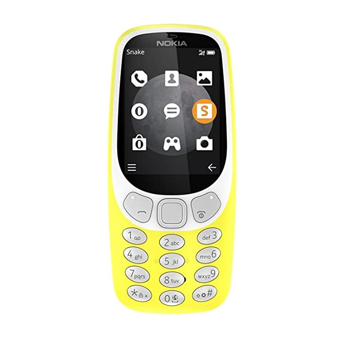 Nokia 3310 3G Yellow, A00028686