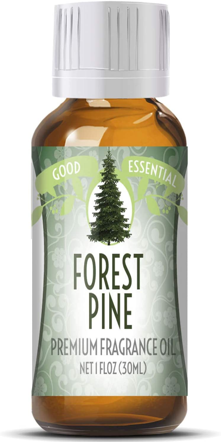 Forest Pine Scented Oil by Good Essential (Huge 1oz Bottle - Premium Grade Fragrance Oil) - Perfect for Aromatherapy, Soaps, Candles, Slime, Lotions, and More!