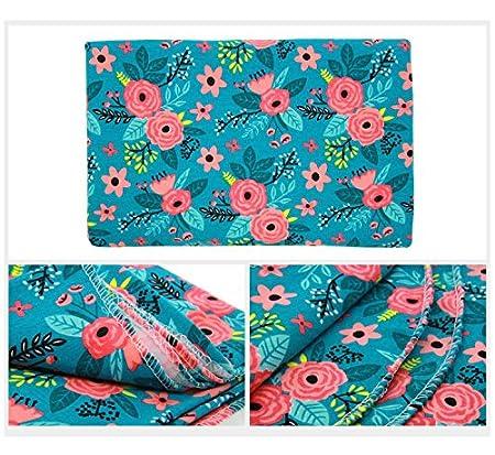 Newborn Baby Swaddle Blanket and Headband Value Set,Receiving Blankets Quest Sweet B01MAYJQT3