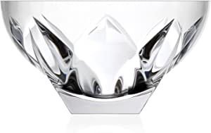 Lorren Home Trends Ninphea Round Crystal Bowl
