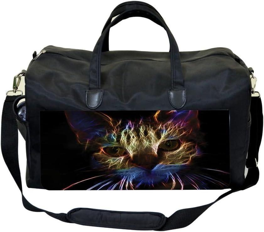 Cool Fractal Kitten Weekender Bag