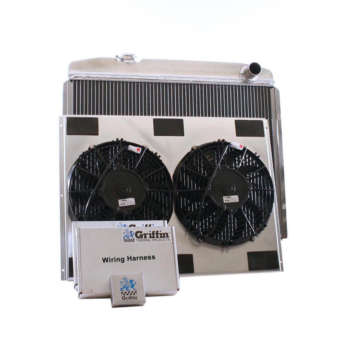 Griffin Radiator CU-70050 ComboUnit Radiator and Electric Fan Kit