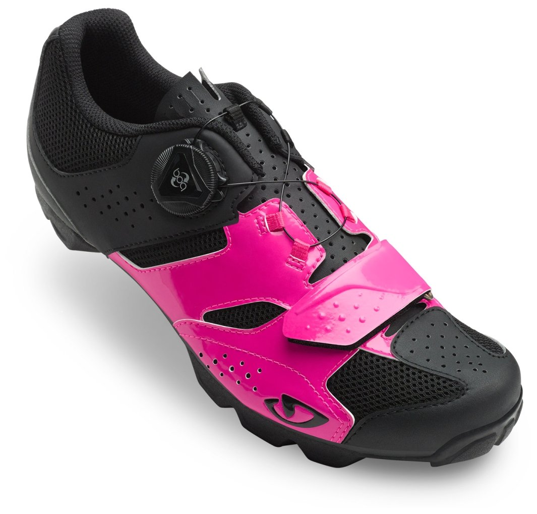 Giro Cylinder Cycling Shoes - Women's Bright Pink/Black 39 by Giro (Image #1)