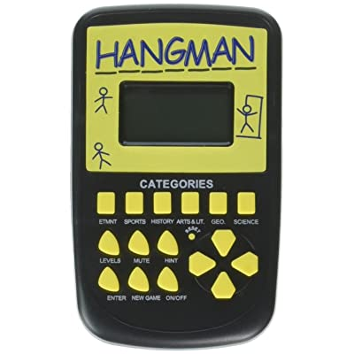 Pocket Arcade Electronic Hangman Game: Toys & Games