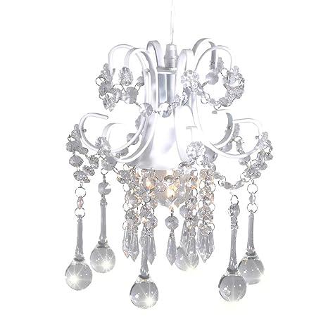 Mini style crystal chandelier pendant light white 1 light mini style crystal chandelier pendant light white1 light aloadofball Gallery