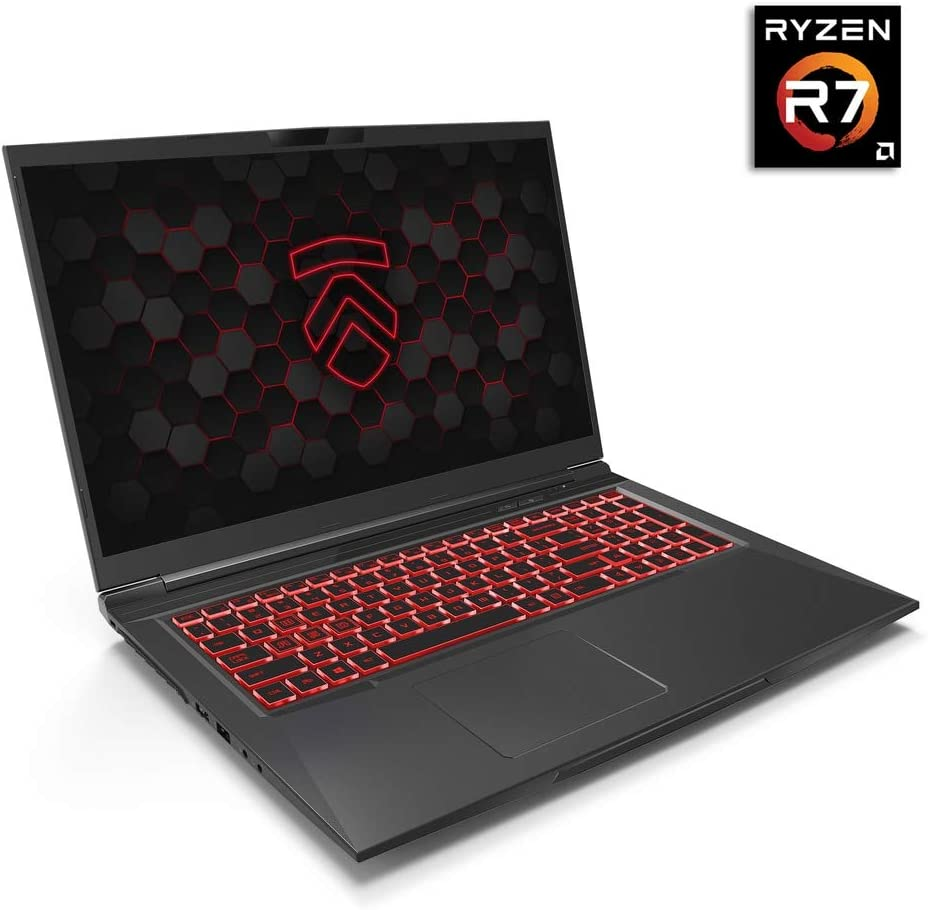Matrix RP-17 Ultra Performance Gaming Laptop PC: AMD Ryzen 4800H 8-Core CPU NVIDIA GeForce RTX 2060 Graphics 17.3