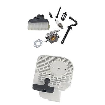 MagiDeal Kit Carburador Filtros Aciete Tubos de Motosierra Carburadores Aceites Fluidos Herramientas de Coche para STIHL