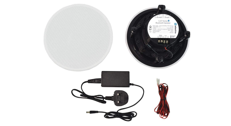 2 x 20W Altavoz de Techo con Bluetooth 5.25 Speakers Adastra