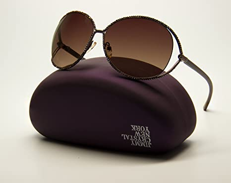 b7efa04cc0b Image Unavailable. Image not available for. Color  Jimmy Crystal Swarovski  Sunglasses ...