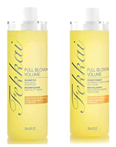 Fekkai Full Blown Volume Shampoo and Conditioner Set - Citrus Extract & Ginseng - 8 oz per Bottle - 1 Bottle of Each