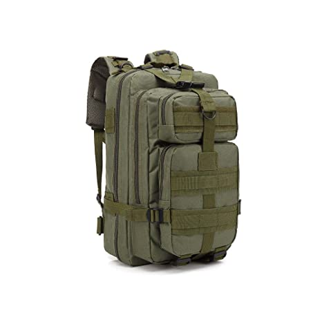 Amazon.com : Xnonix 30L Outdoor Neutral Adjustable Military Tactic Backpack Rucksacks Hiking Travel : Sports & Outdoors