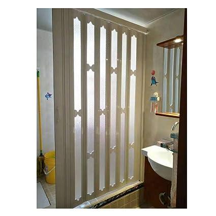 Interior Waterproof Folding Door Design Bathroom Sliding