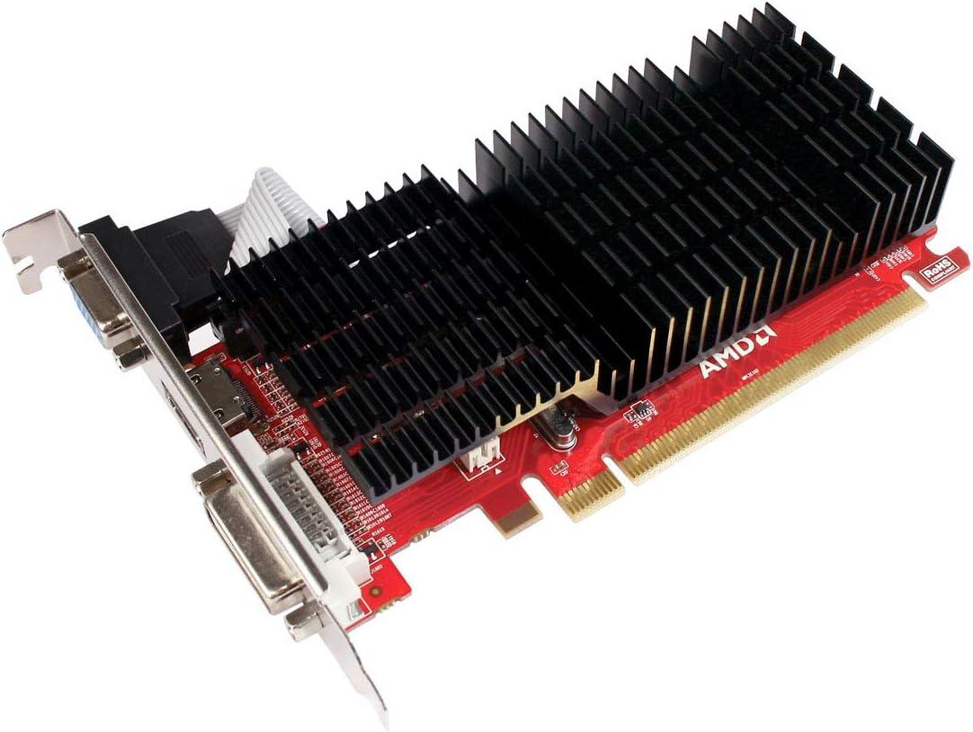 Diamond Multimedia AMD ATI Radeon HD 6450 1 GB GDDR3 Dual Link DVI, 1 HDMI and VGA Video Card (6450PE31G)