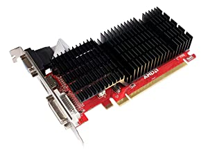 Diamond Multimedia AMD Radeon HD 5450 PCI Express GDDR3 1GB (DVI, HDMI, VGA) Larger Heatsink Video Graphics Card (5450PE31G)
