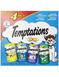 TEMPTATIONS Classic Cat Treats, Classic Flavor Variety Pack, ...