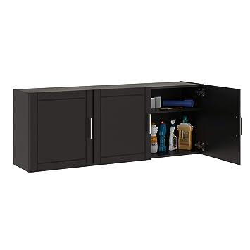 Systembuild Callahan 54 Wall Cabinet Black