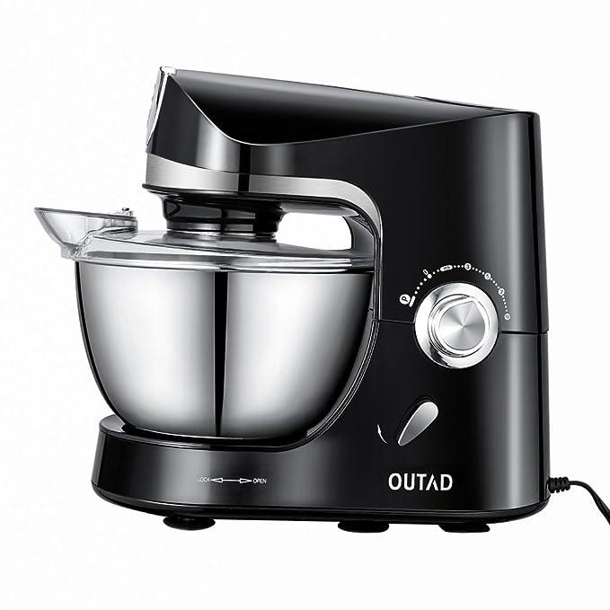 Robot de cocina profesional con accesorios, Robot de cocina pastelero multifunción con accesorios.: Amazon.es