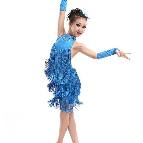MORESAVE - Vestido para ni ntilde a de baile latino cd9d1fe5d99