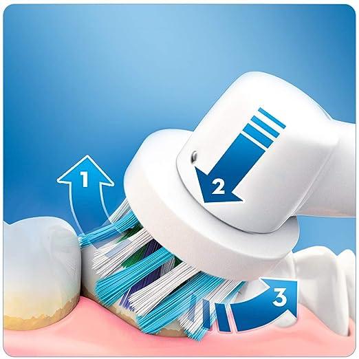 ORAL-B Pro 2 2900 Cross Action - Cepillo de dientes eléctrico, 2 unidades): Amazon.es: Salud y cuidado personal