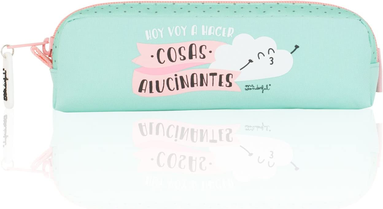 Mr. Wonderful - Portatodo Oval, 21 x 4 x 6 cm (SAFTA 821556759): Amazon.es: Juguetes y juegos