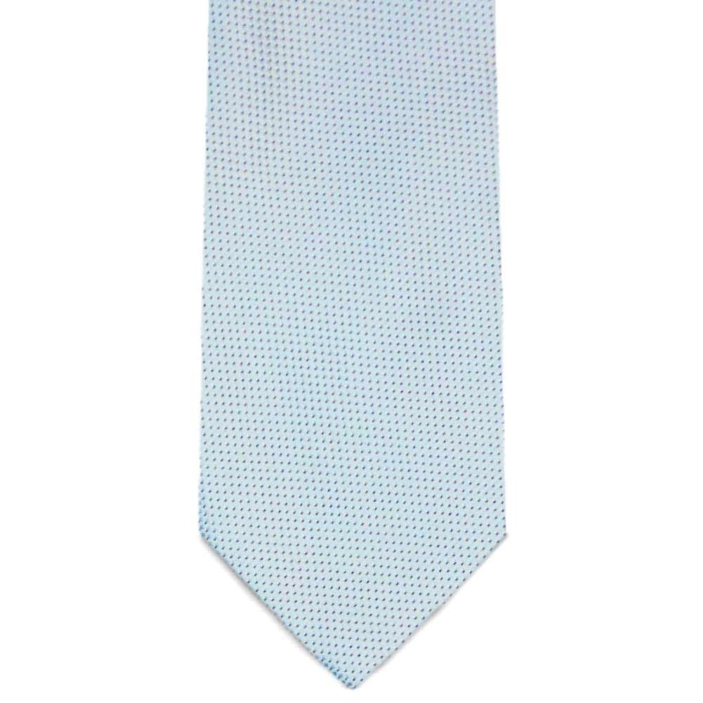 TieMart Special Purchase Slim Tie and Pocket Square Set in Riverpoint