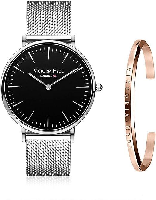 Amazon.com: Victoria Hyde - Reloj de pulsera minimalista ...