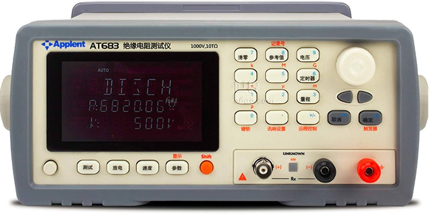 ZHU-CL Scientific Measuring Equipment Digital Tester Megohmmeter High Insulation Resistance Tester AT683