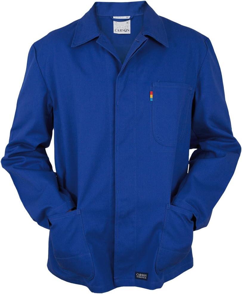 wei/ß 1 St/ück 52 KTH709J.W Carson Classic Workwear Arbeitsjacke aus reiner Baumwolle