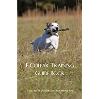 E Collar Training Guide Book- How To Train Your Dog In A Proper Way: Masters Dog Training