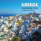 Greece Calendar 2018: 16 Month Calendar