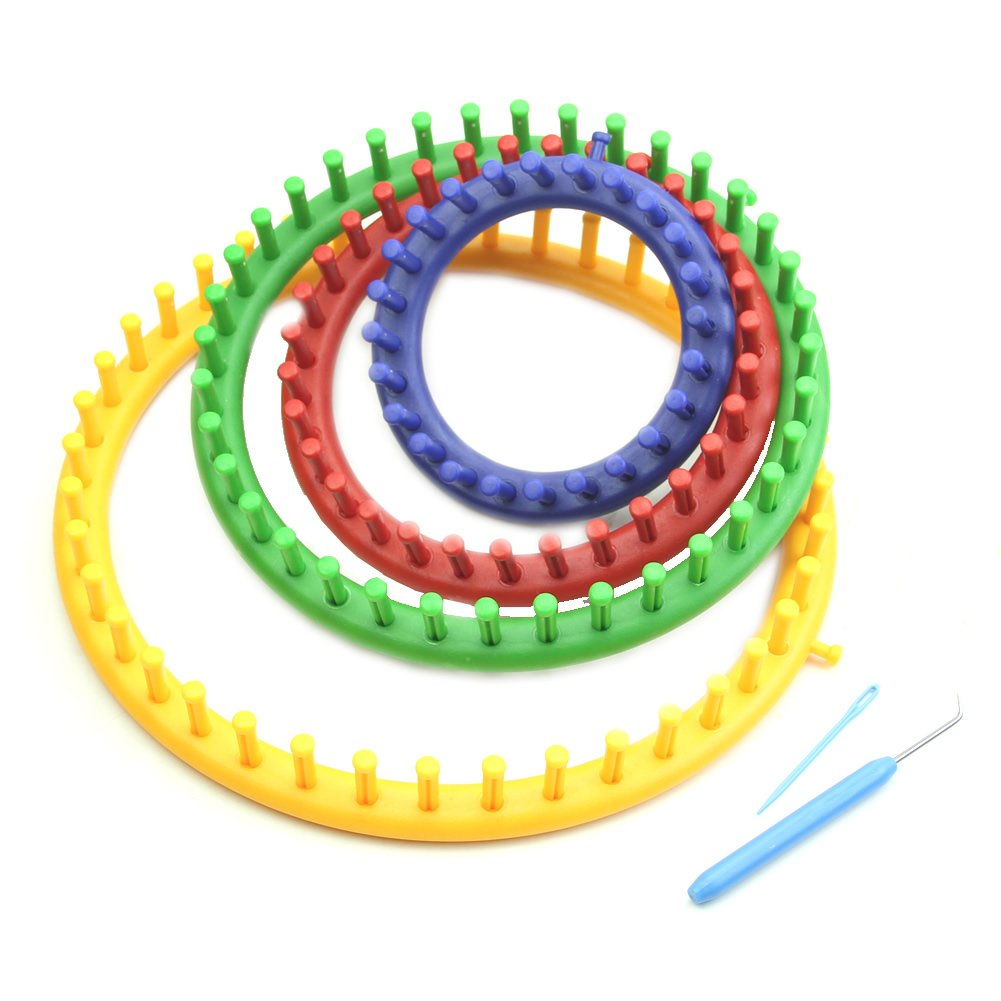 Techinal 4Size Classical Round Circle Hat Knitter Knitting Knit Loom Kit