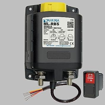 Batterie- Hauptschalter Fernsteuerbar 500A/12Volt / 0mA Standby ...