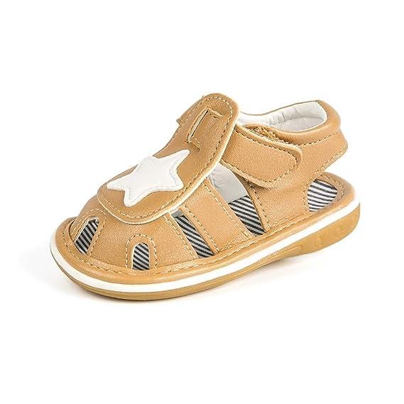 YI-WAN Verano 0-1 años Sandalias for bebés Suelas de Goma ...